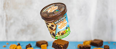 Salted Caramel Brownie Ben & Jerry's Topped Ice Cream