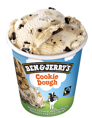 cookie dough eiscreme ben jerry s. Black Bedroom Furniture Sets. Home Design Ideas