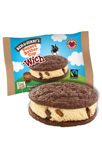 Peanut Butter Cup 'Wich Ice Cream Bar