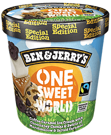One Sweet World Ice Cream Tub